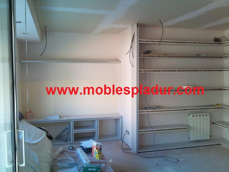 PLADUR BARCELONA: Muebles de pladur para salón