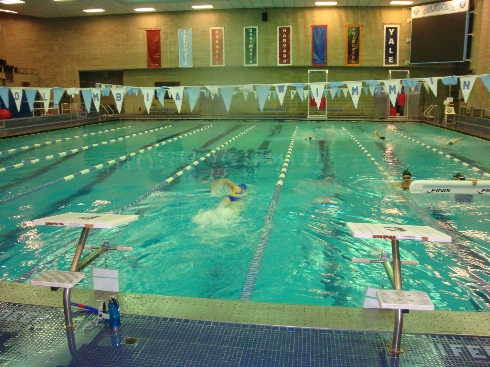 50 swims swim 50 columbia university new york ny for Columbia university swimming pool