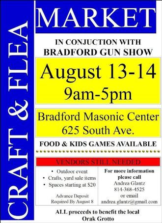 8-13/14 Craft & Flea Market