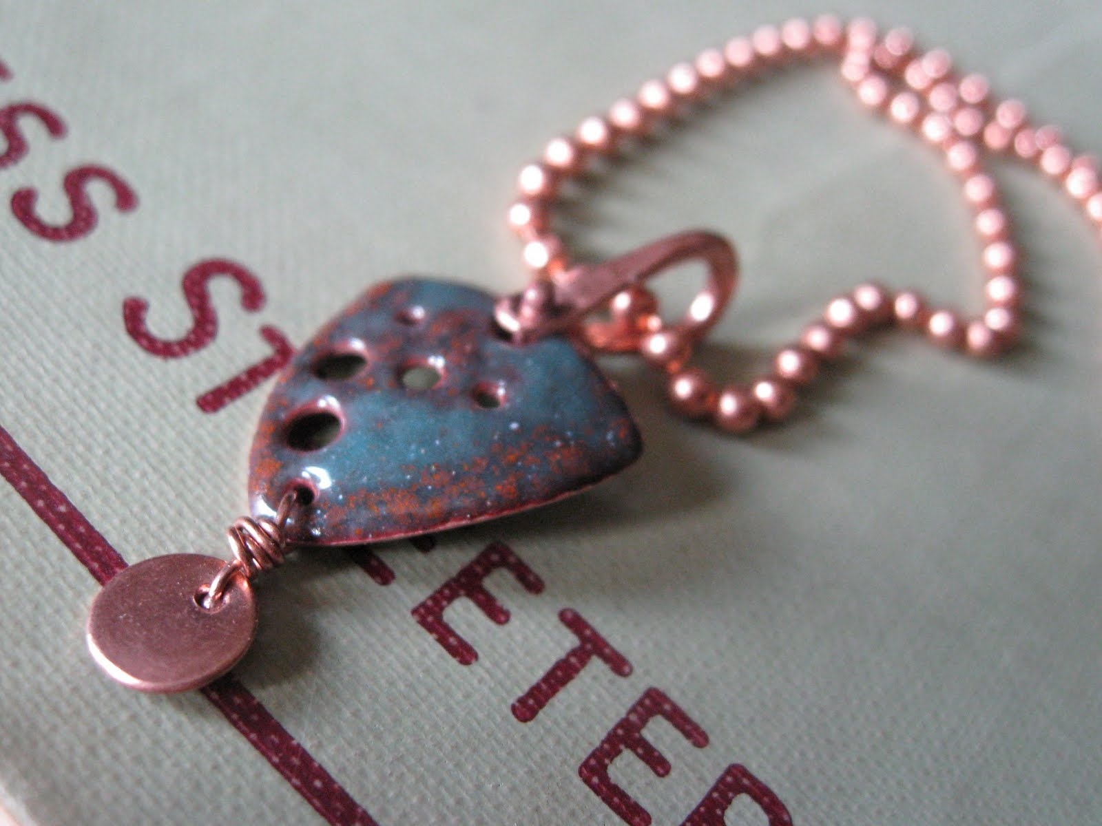 Crafting For Courage Shield Necklace