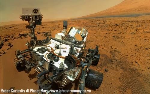 Tak Ada Tanda Kehidupan di Planet Mars