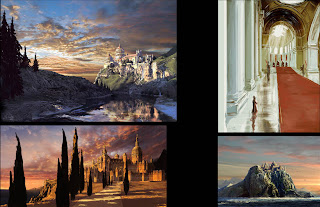 Cair Paravel the palace from the Chronicles of Narnia