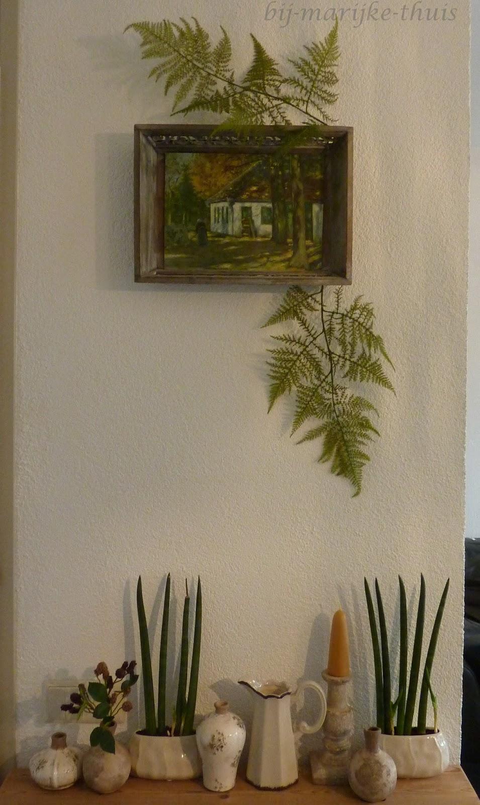 Bij Marijke Thuis: Klaptafeltje...