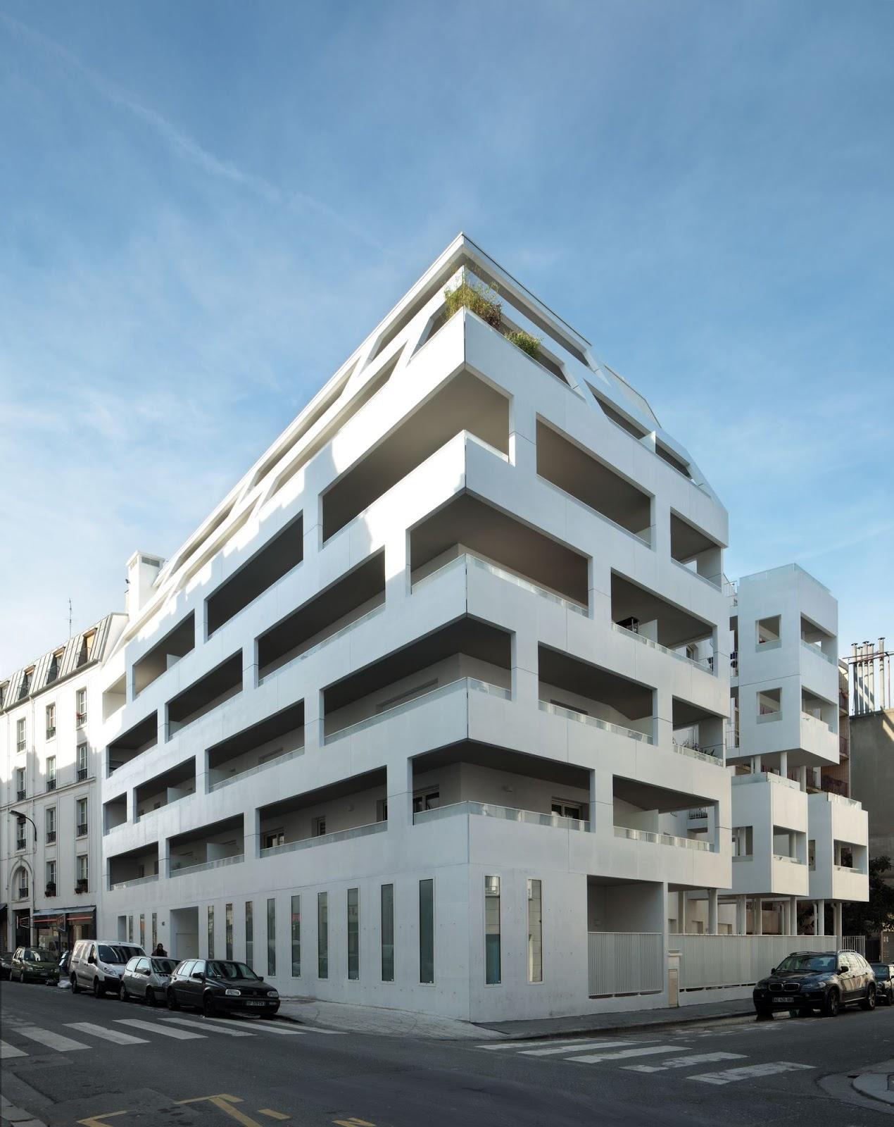 Ecdm architectes a f a s i a for Appartement architecte paris
