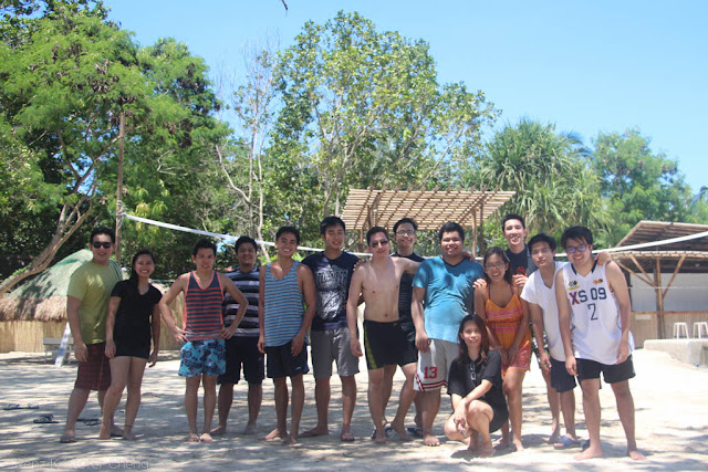 FSRM Beach Volleyball in Blue Palawan - Outing 2015