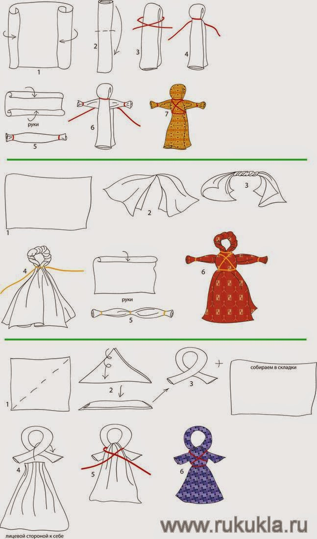Изготовление кукол оберегов своими руками мастер класс 96
