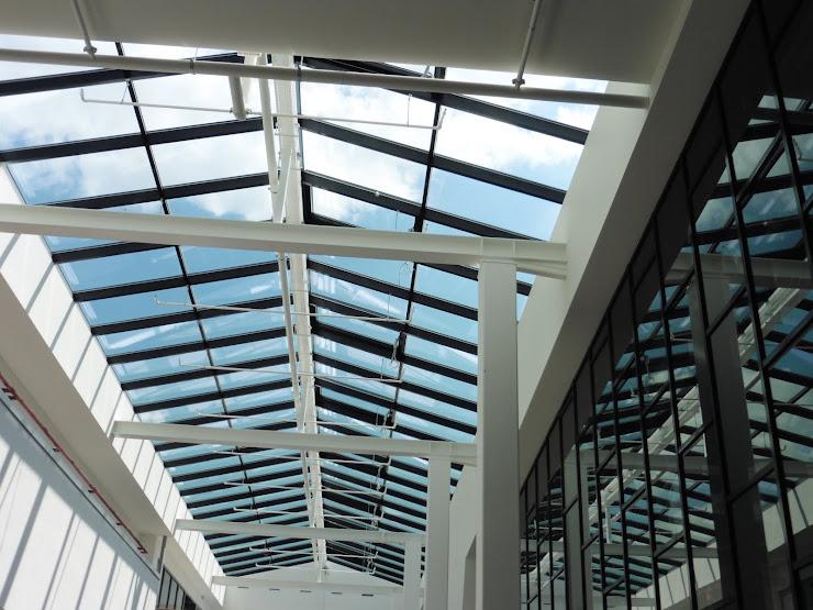 Nieuwbouw van Stenden Hogeschool in Leeuwarden