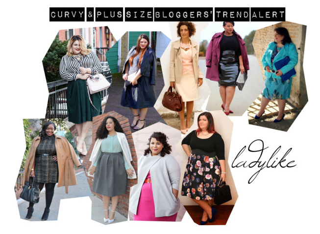 trend ladylike dalle blogger curvy e plus size