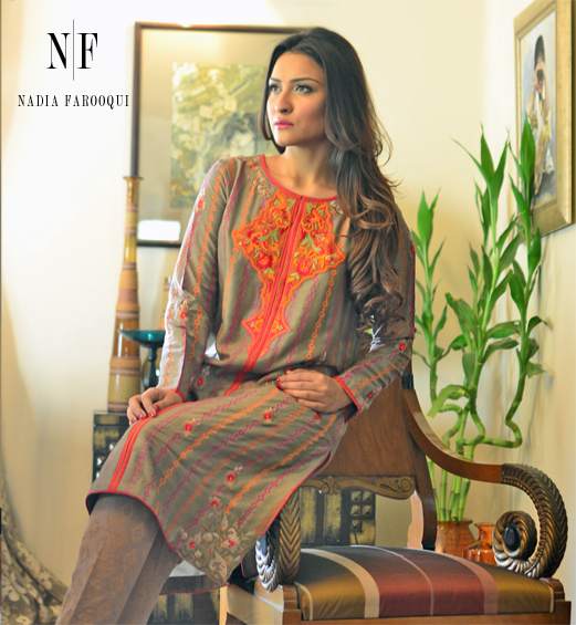 Nadia Farooqui semi formal dresses