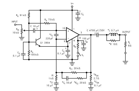 amplifiercircuits com  lm3886