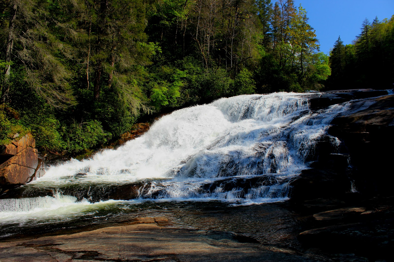 Feats on foot for Cabine sospese di rock state park nc
