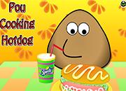 Pou Cookig Hot Dog