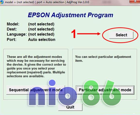 Скачать Бесплатно Программу Adjustment Program Epson L110 L210 - фото 5