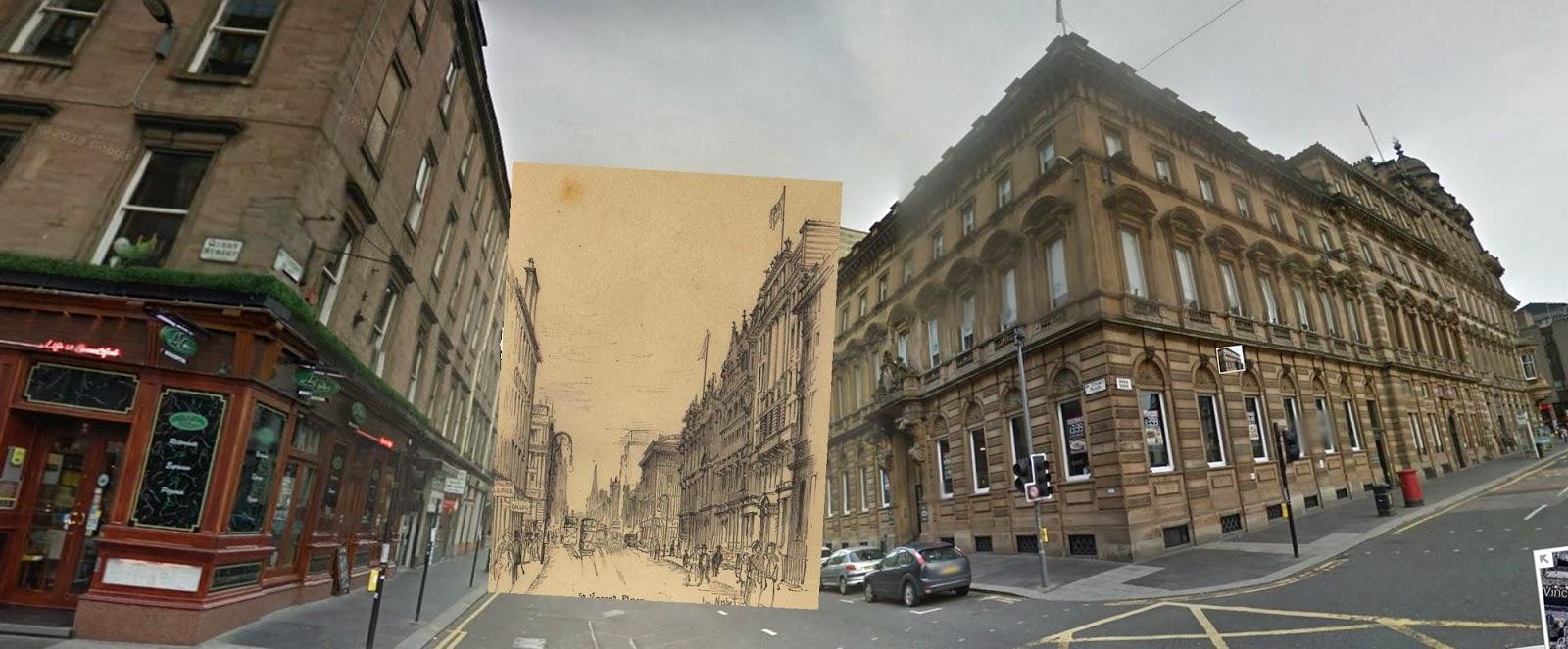 John Nisbet, St Vincent Place, Glasgow