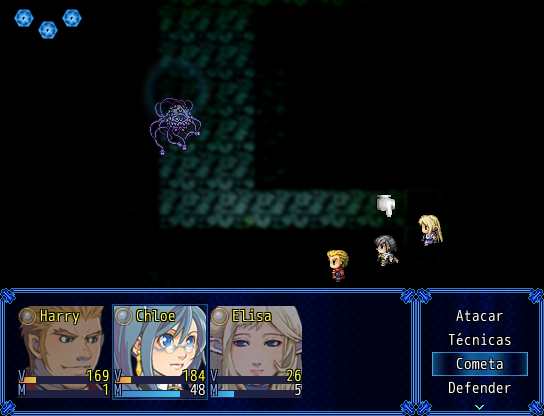 [RMVX] Eternal End - Legacy Mystic Angel Eternal_end_battle_screen