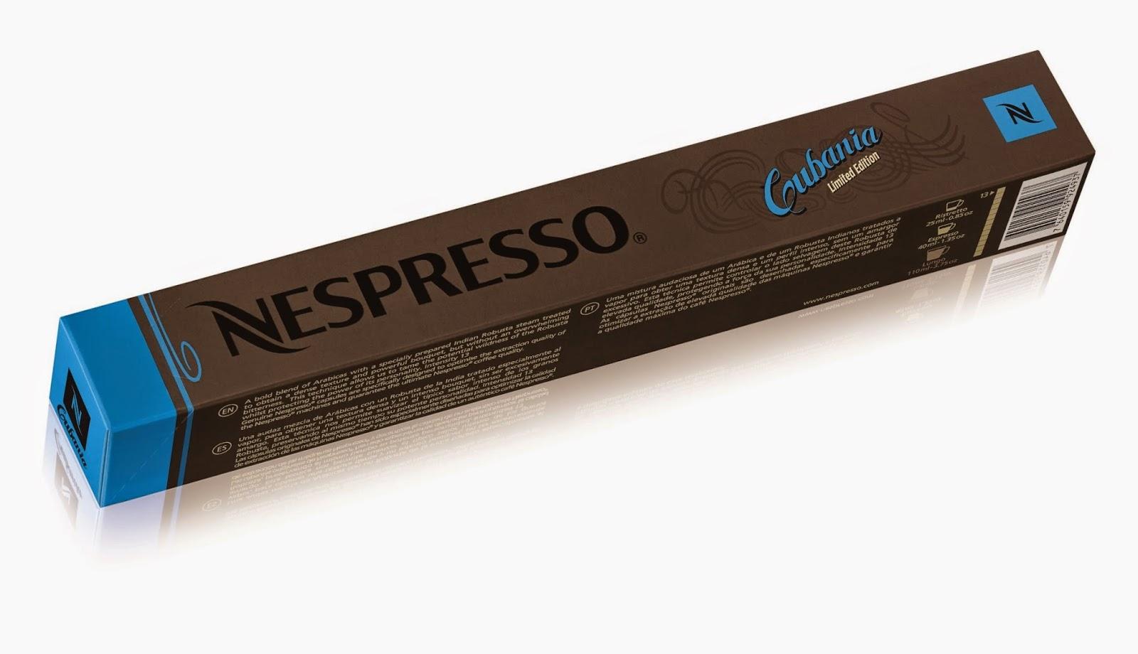 Cubania: la nuova limited edition di Nespresso