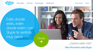 crear cuenta Skype