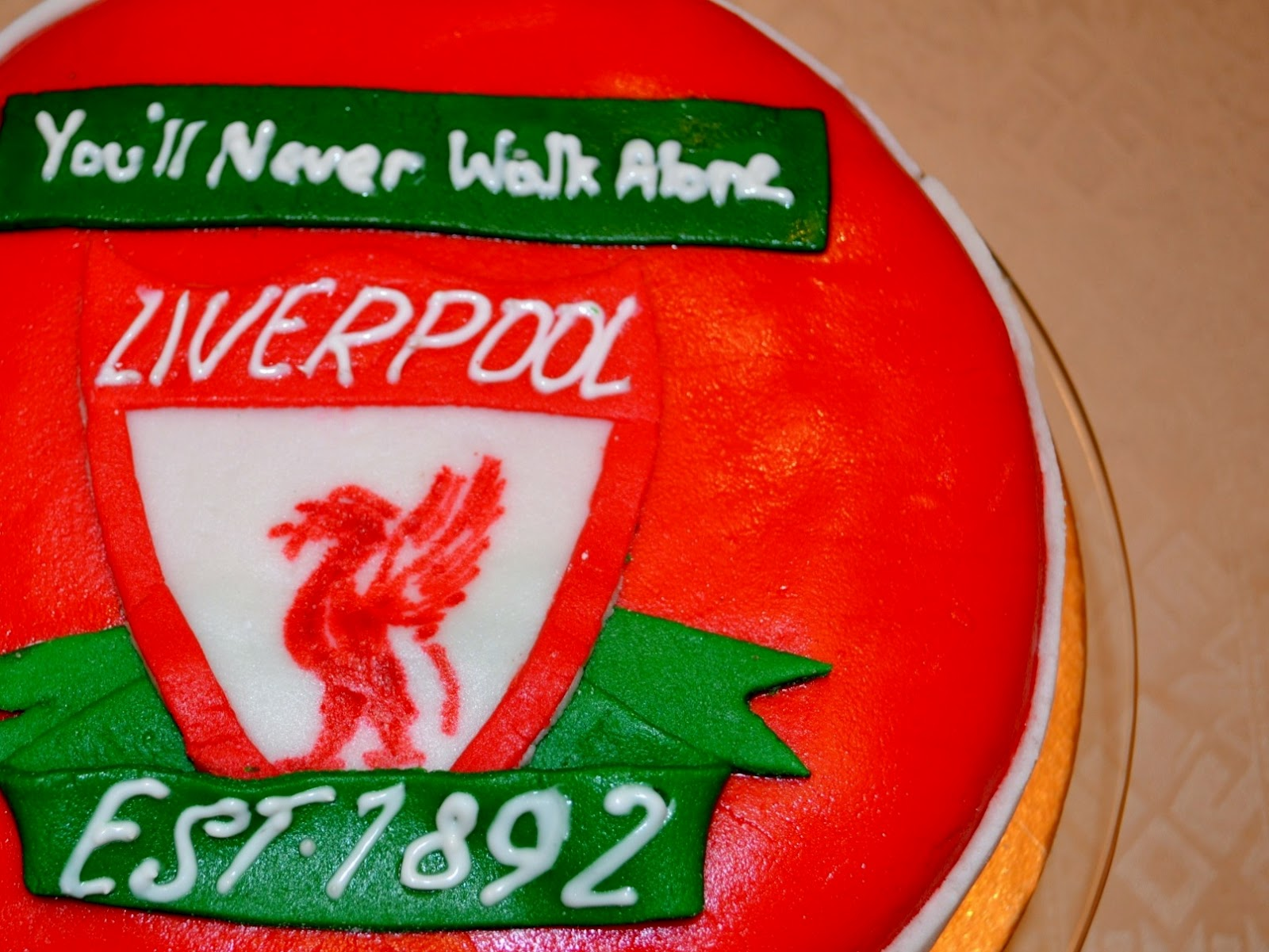 Liverpool Fc Cake Connceticuy