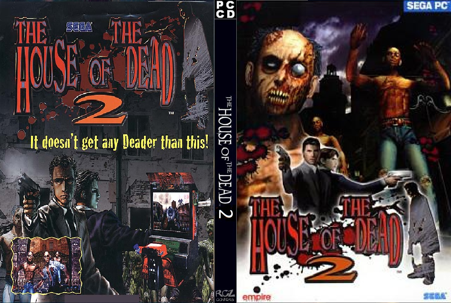 The House of the dead 2 PC DVD Capa