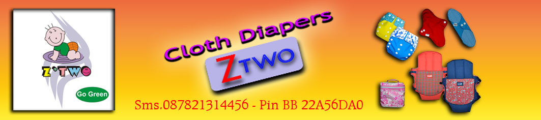 Pengrajin Clodi(Cloth Diapers)  Z'TWO