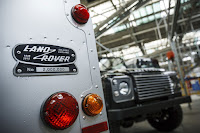 Land Rover creates one-of-a-kind Defender to mark