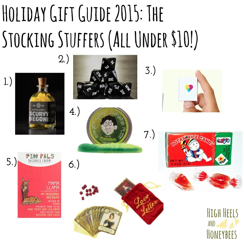 Christmas Shopping List 2015: The Stockings