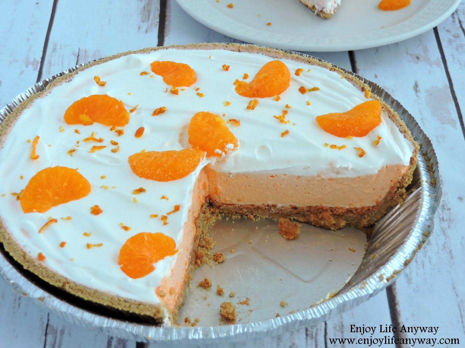 Enjoy Life Anyway: Easy Dreamy Creamsicle Pie
