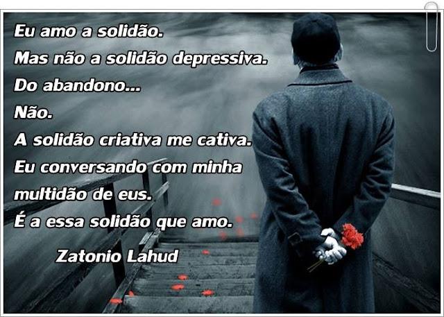 Poema da Solidão- Zatonio Lahud