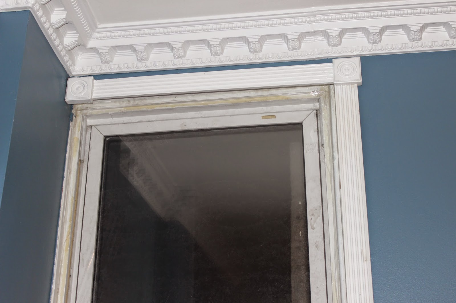 Fluted Trim Boards ~ Handyman hubby replicating a room from castle in our