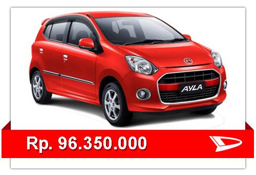 Update Harga Mobil Daihatsu Ayla Terbaru 2015