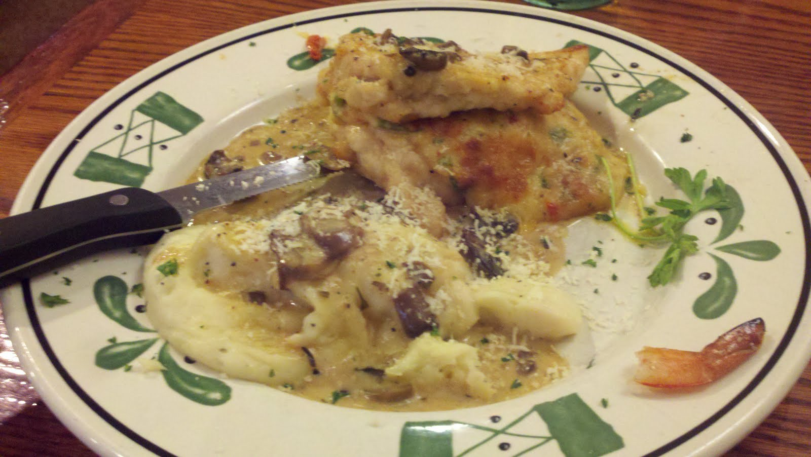 Menu busters for Olive garden stuffed chicken marsala
