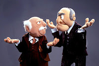 Muppets Waldorf and Statler