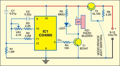 Wire Break+Alarm+With+Delay+Circuit+Diagram dayton 8 pin relay wiring diagram 11 pin relay socket diagram Trailer Wiring Diagram at mifinder.co