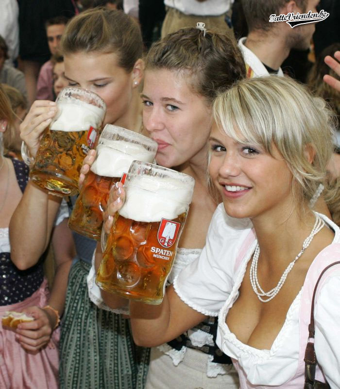 Sexy Hot Swedish Women - Beer Drinkers