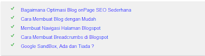 Blogspot Membuat Related Post yang Menarik