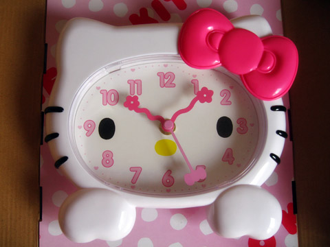 Hello Kitty Hello Kitty clocks