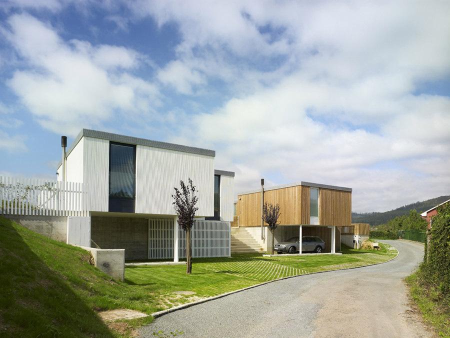 Galicia cool magazine casas modulares en bertamirans - Casas modulares galicia ...