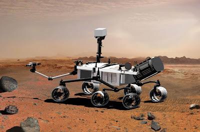 Curiosity Rover Photos