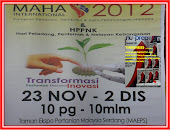 NU-PREP MAHA INTERNATIONAL 2012. SEBILION TERIMA KASIH MOA-PAVILLION,NEGERI-NEGERI