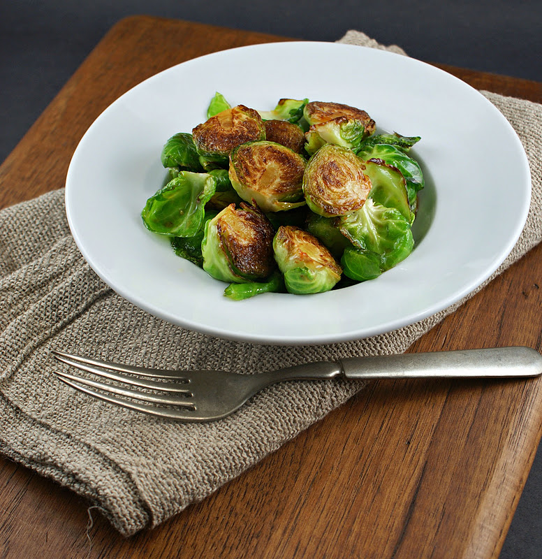 Authentic Suburban Gourmet: { Pan Fried Brussels Sprouts ...