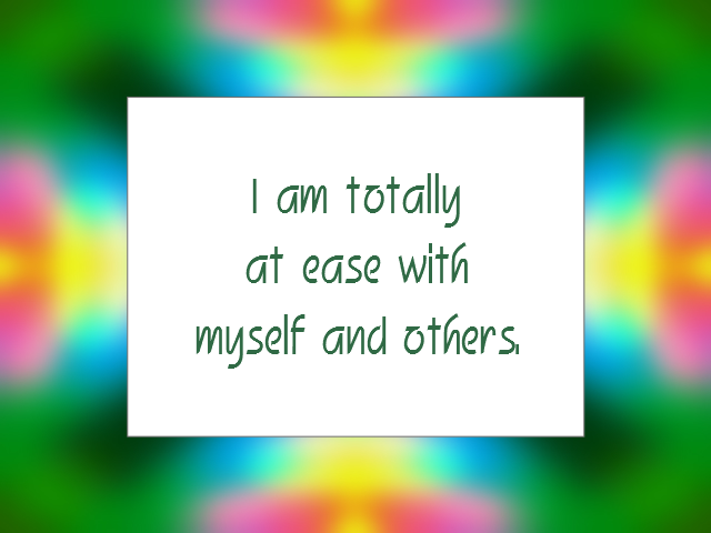 CONFIDENCE affirmation