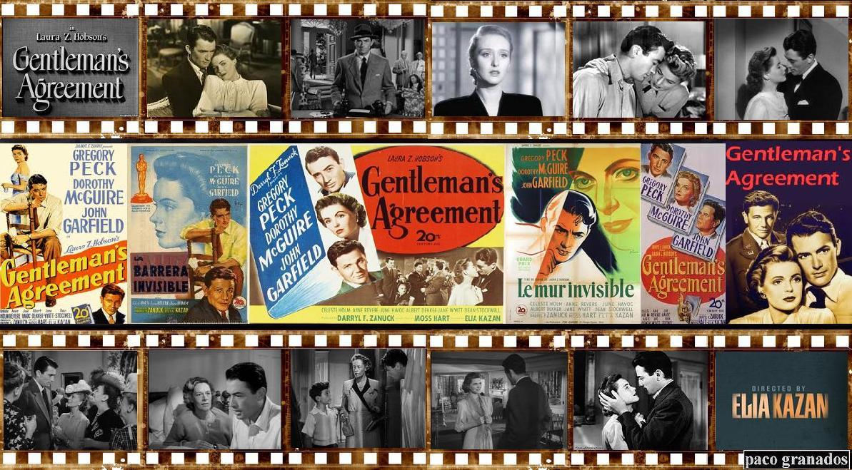 Gentlemans Agreement La Barrera Invisible 1947 Elia Kazan