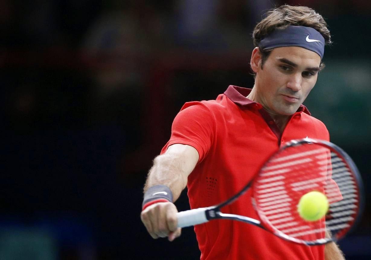 Roger Federer-Lucas Pouille