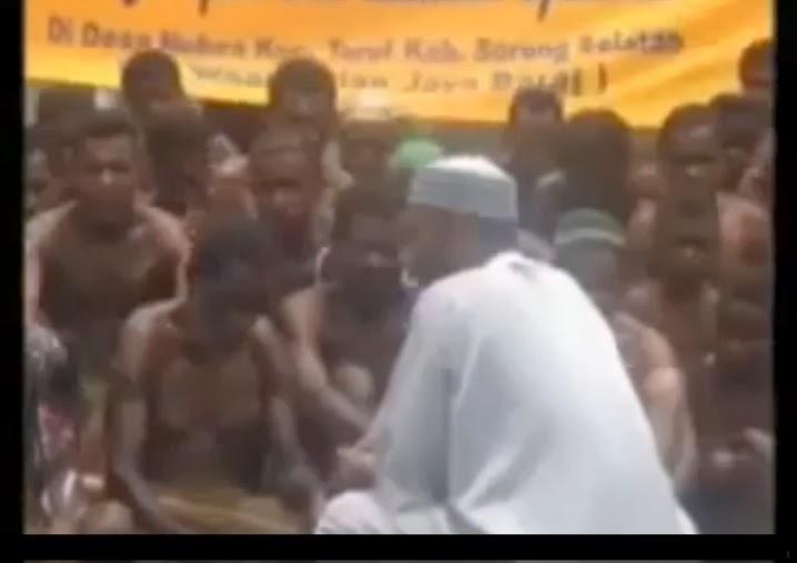 Penduduk Asli Papua New Guinea Memeluk Islam Beramai-Ramai