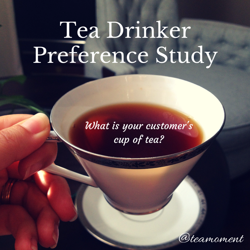 Information on the Upcoming Tea Drinker Preference Study