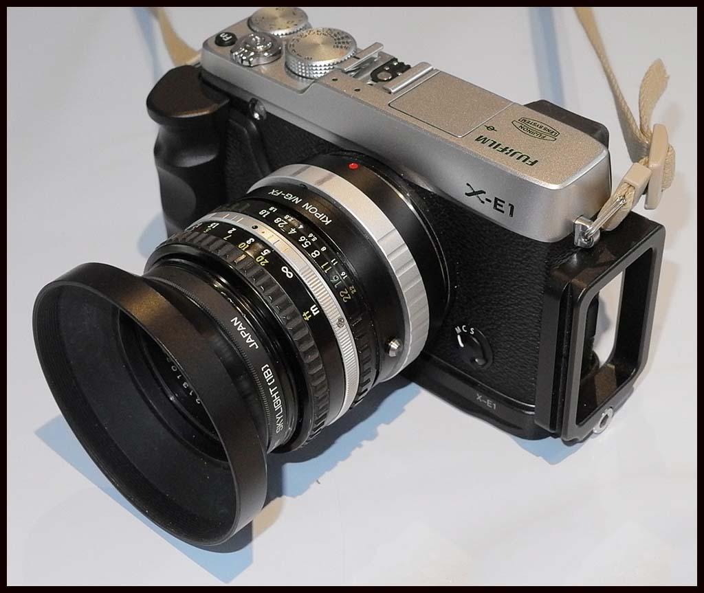 fuji x e1 plus 28 year old 35 nikon series e 50mm f 1 8 lens soundimageplus. Black Bedroom Furniture Sets. Home Design Ideas