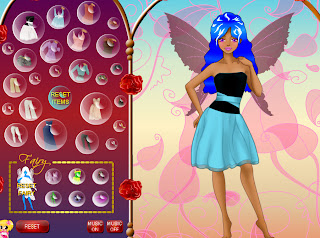 Fairies Dress Up Game