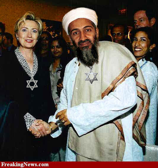 bin laden and hillary clinton meet