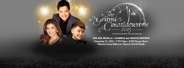 The Grand Countdown 2015, A Spectacular New Year Celebration