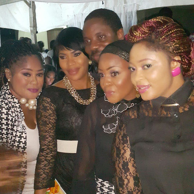 moji olaiya 40th birthday party